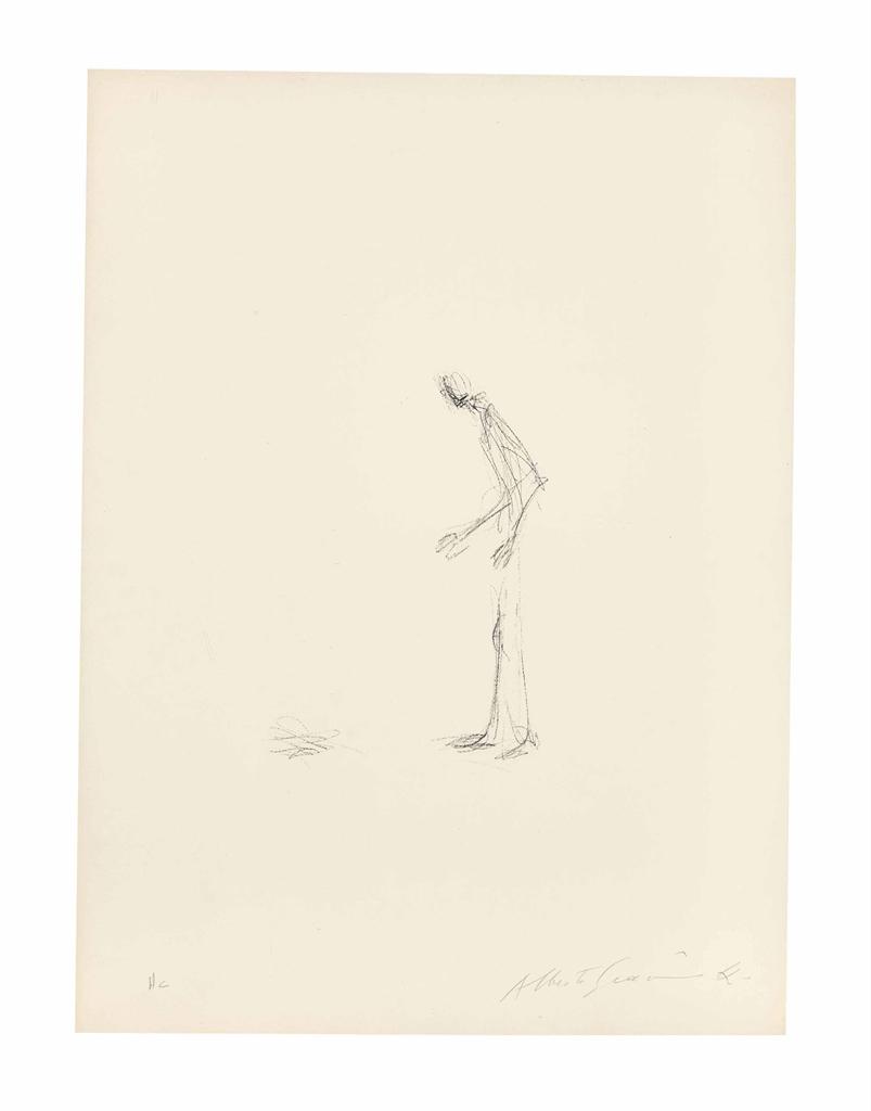 Alberto Giacometti-Disturbing Object I-1965