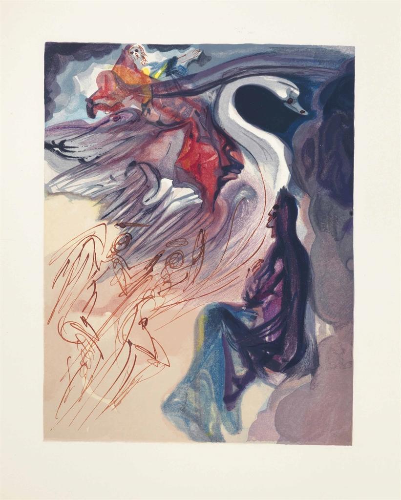 Salvador Dali-Dante Alighierei, La Divina Commedia (The Divine Comedy), Arti e Scienze, Salani, Italy, 1960-64-1964