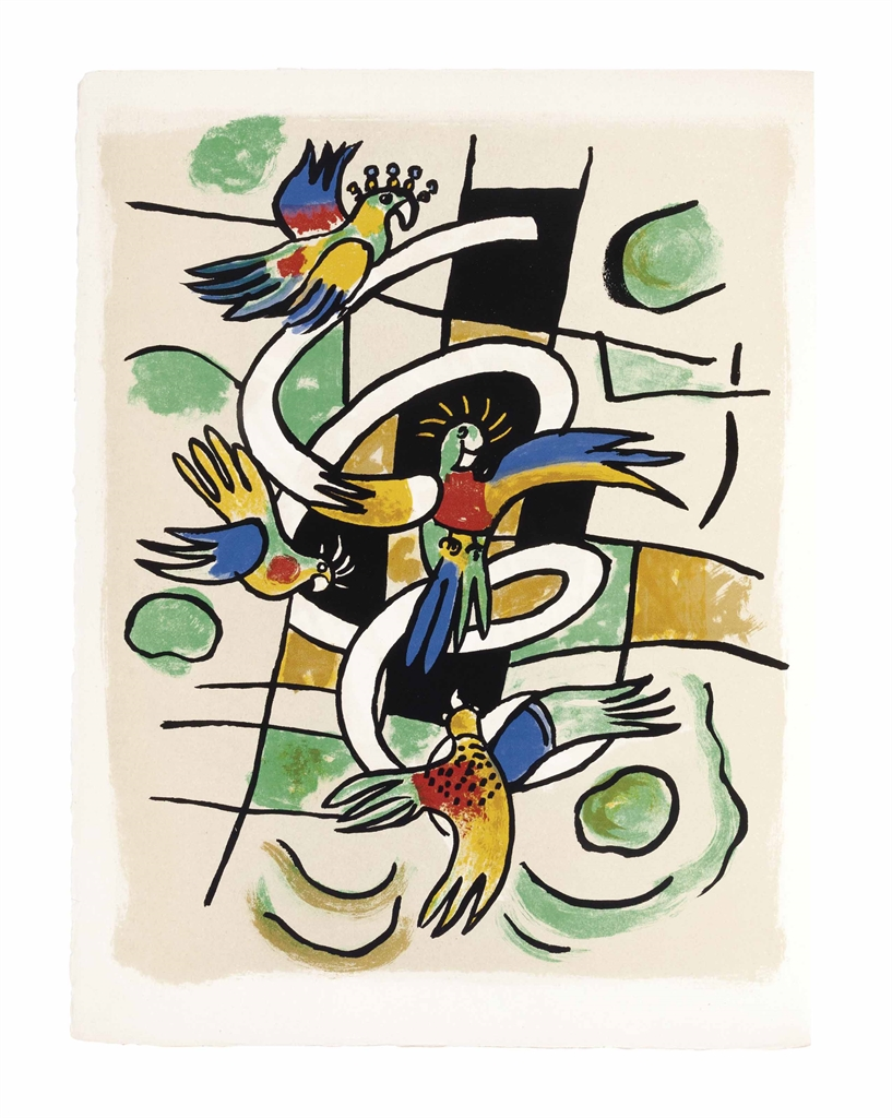 Fernand Leger-Cirque, Les Editions Verve, Paris, 1950-1950