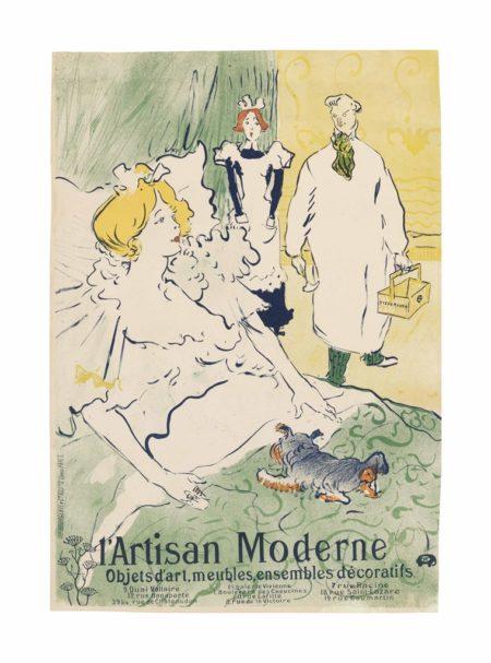 Henri de Toulouse-Lautrec-L'Artisan Moderne-1896