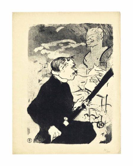 Henri de Toulouse-Lautrec, 1864-1901, Dessins-Estampes-Affiches; Deluxe Suite of 12 lithographs-1927