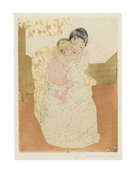 Mary Cassatt-Maternal Caress-1891