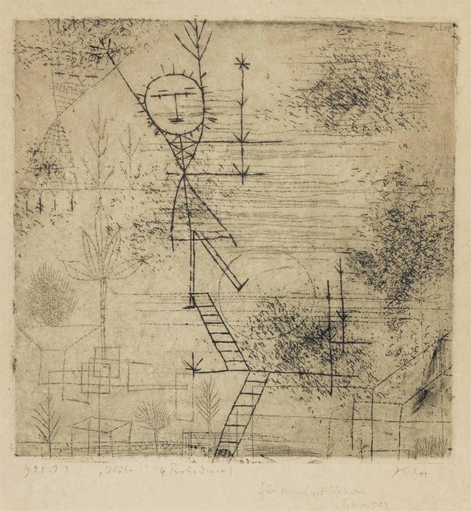 Paul Klee-Hohe!-1928