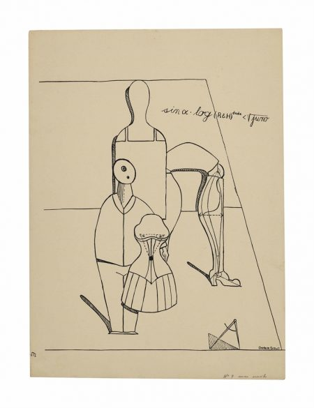 Max Ernst-Untitled, plate 2 from Fiat Modes pereat ars-1919