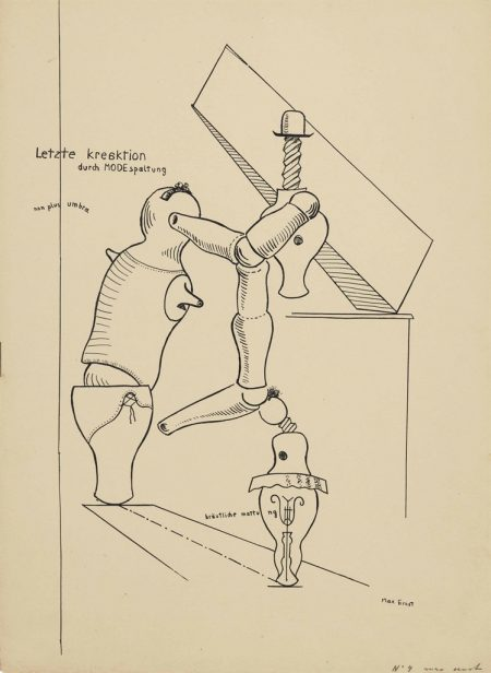 Max Ernst-Untitled, plate 3 from Fiat Modes pereat ars-1919