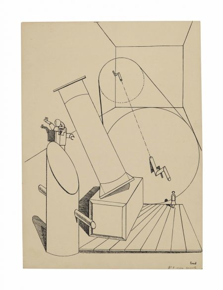 Max Ernst-Untitled, plate 5 from Fiat modes pereat ars-