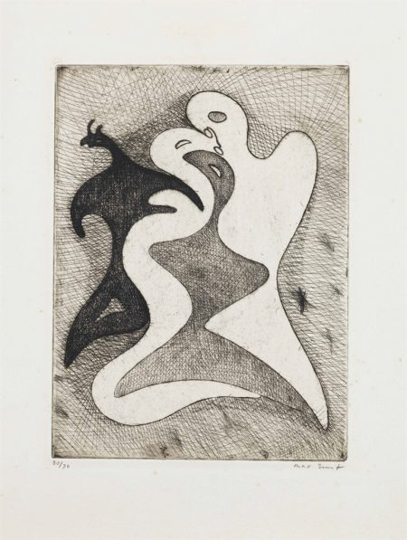 Max Ernst-Correspondances dangereuses, from Brunidor Portfolio No. 1-1947