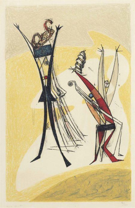 Max Ernst-Rhythmes-1950