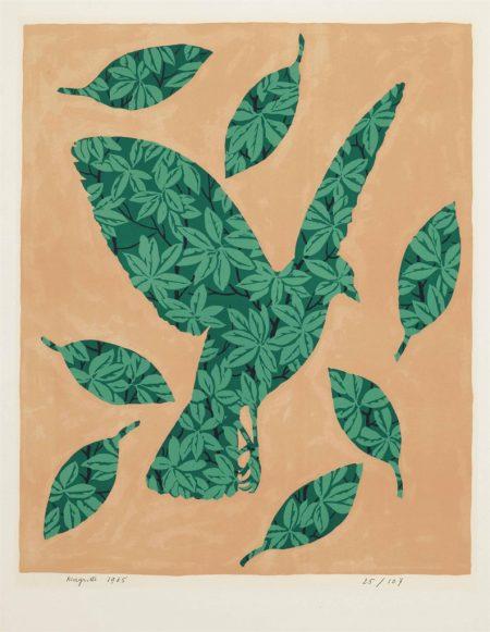 Rene Magritte-Salon de Mai-1965
