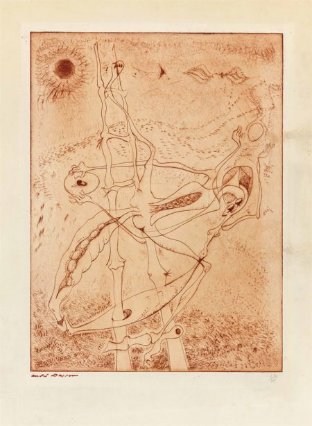 Andre Masson-Le genie de l'espece-1942