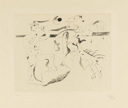 Joan Miro-Daphnis et Chloe-1933