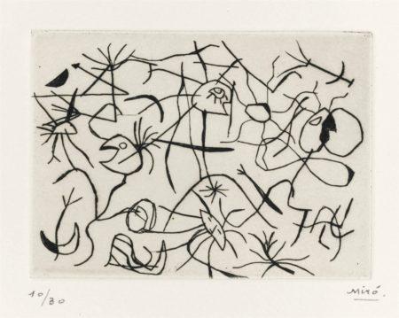 Joan Miro-Astres et danseurs-1938