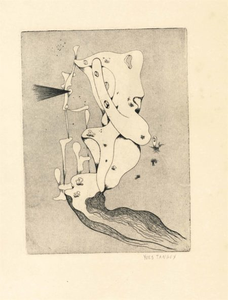 Yves Tanguy-Untitled, from Primele poeme de Tristan Tzara-1934