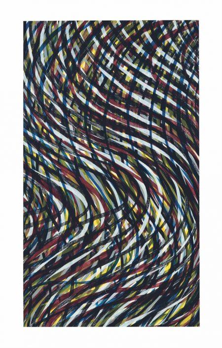 Sol LeWitt-Wavy Lines (Color); Wavy Lines (Grey)-1995