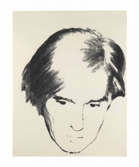 Andy Warhol-Self-Portrait-1977