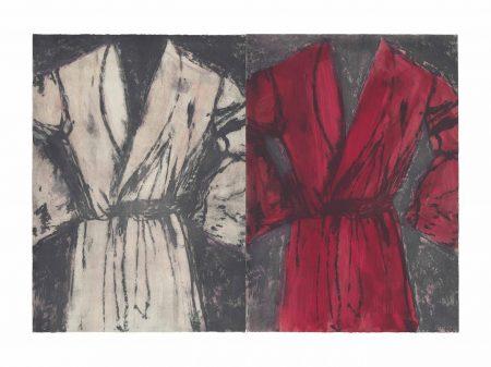 Jim Dine-A Magenta Robe, A Rose Robe-1979