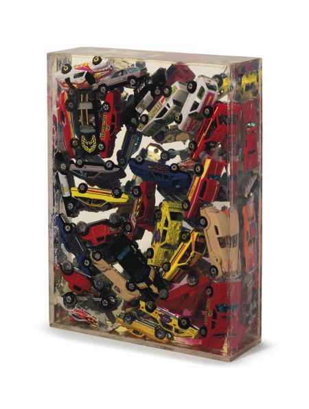 Arman-Car Accumulation (Matchbox Cars)-1985
