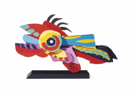 Karel Appel-Flying Fish-1977