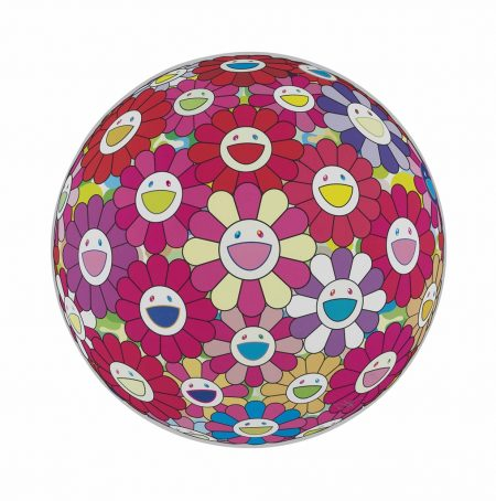 Takashi Murakami-Ten Prints by the Artist (Flowerball (3D) - Tum Red!; Flowerball (3D) - Papyrus; Flowerball (3D) - Red, Pink, Blue; Hey! You! Do You Feel What I Feel?; Flowerball (3D) - Blue, Red; Comprehending the 51st Dimension; Letter to Picasso; Groping for the Truth; There is Nothing Eternal in this World. That is Why You are Beautiful; Flowerball (3D) - Red Ball)-2014