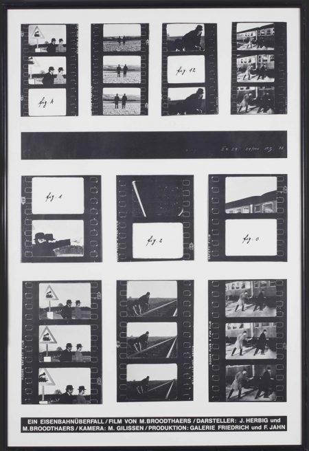 Marcel Broodthaers-Ein Eisenbahnuberfall (A Train Robbery)-1972