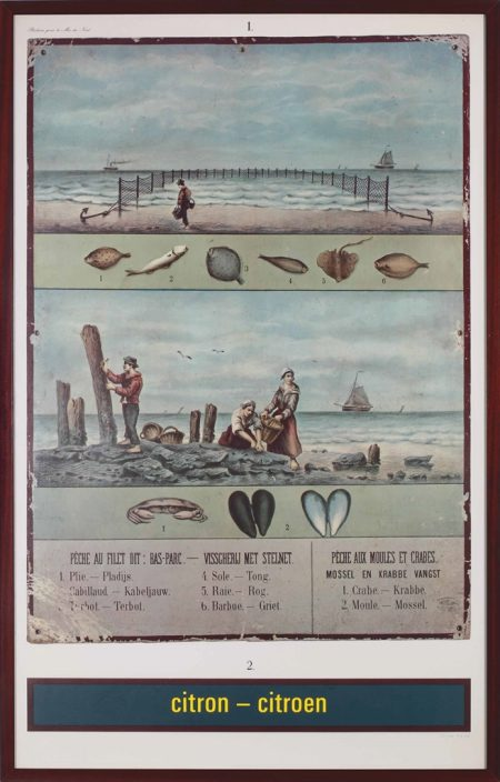 Marcel Broodthaers-Citron - Citroen (Reclame pour la Mer du Nord) (Citron - Citroen (Advertisement for the North Sea))-1974