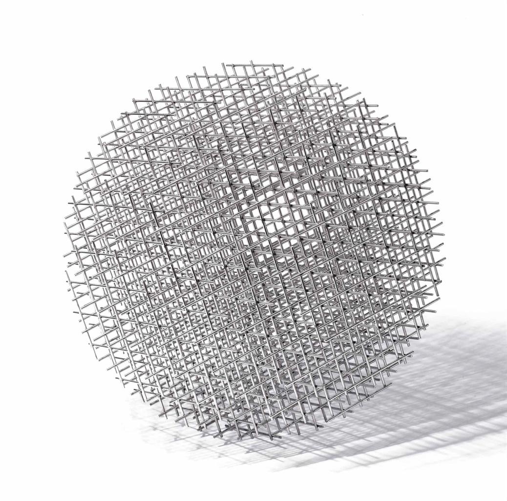 Francois Morellet-Sphere Trame (Spherical Framework)-1962