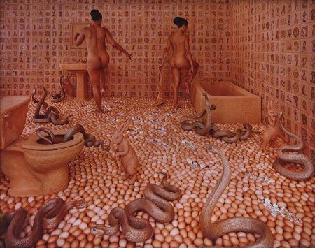 Sandy Skoglund-Walking On Eggshells-1997