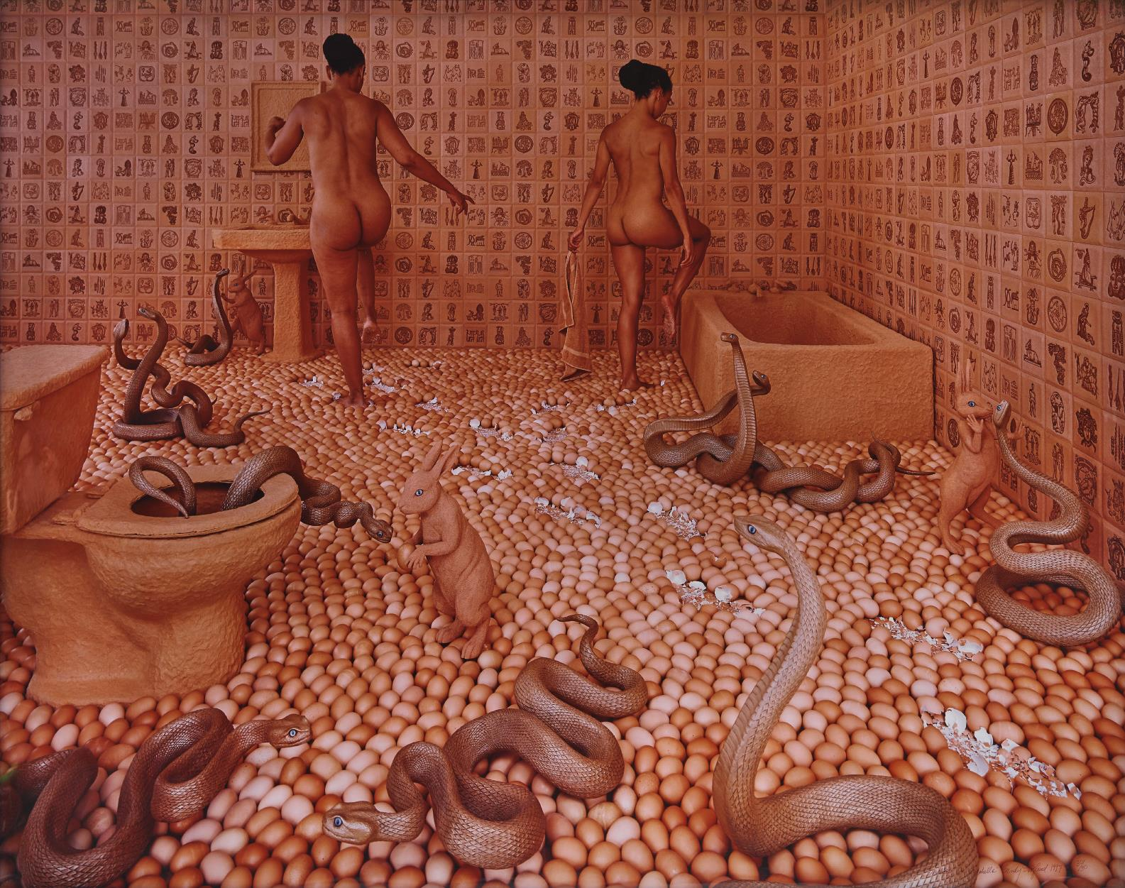 Sandy Skoglund-Walking On Eggshells-1997