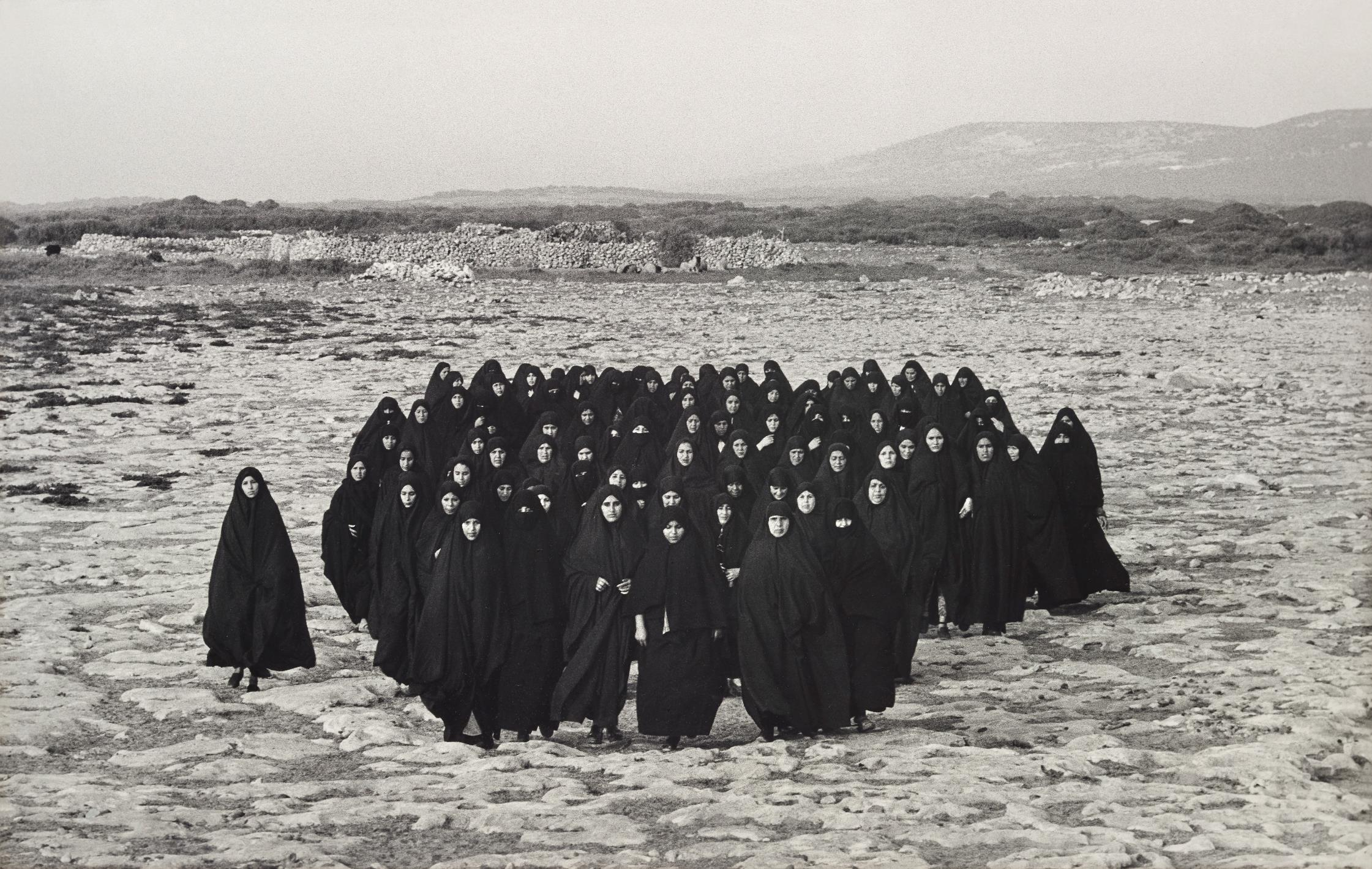 Shirin Neshat-Untitled From Rapture-1999