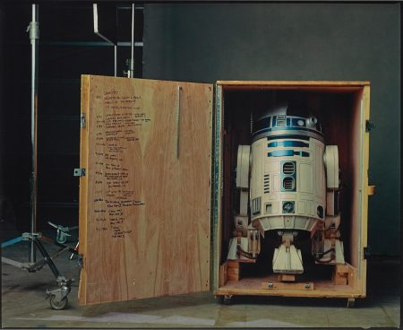 "Annie Leibovitz-R2-D2 On The Set Of ""Star Wars: Episode Ii, Attack Of The Clones"", Pinewood Studios, London-2002"