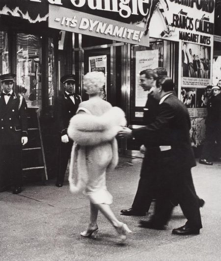 Weegee-Marilyn Monroe And Joe Dimaggio, Film Premiere, New York-1955