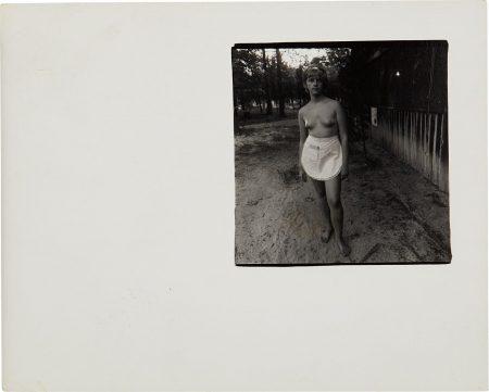 Diane Arbus-Waitress, Nudist Camp, N.J.-1963