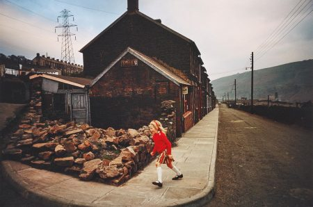 Bruce Davidson-Wales (Girl In Red Sweater)-1965