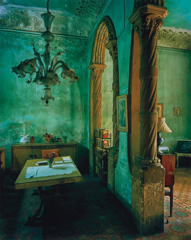 Green Dining Room-2002