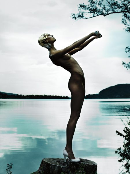 Mario Testino-Karlie Kloss, Austria, American Vogue-2013