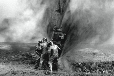 'Greater Burhan Oil Field' Kuwait-1991