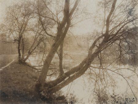 Eugene Atget-Etang Ville D'Avray-1910
