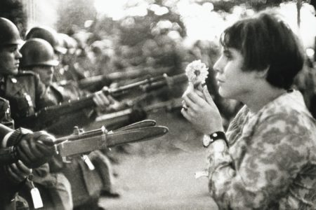 Marc Riboud-Washington' 21 Octobre-1967