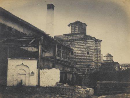 Emile Charles Labbe-Ernest de Caranza-Couvent Koutouloumouche Et Environs Mont Athos-1853