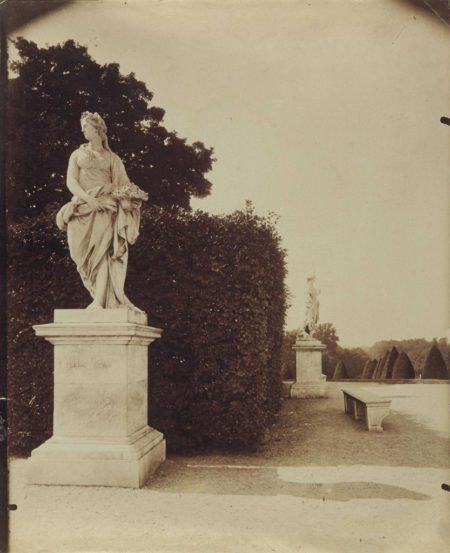 Eugene Atget-Versailles, Parc-1905