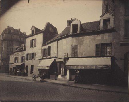 Eugene Atget-Maisons, 4 rue Desnouettes, Paris-1924