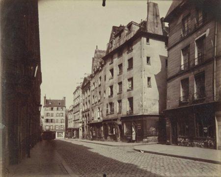 Eugene Atget-Un coin, Rue Valette-1926