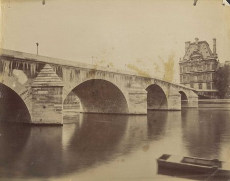 Eugene Atget-Pont Royal, Paris-1900