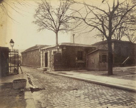 Eugene Atget-Porte d'Arcueil-1920