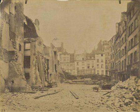 Eugene Atget-Rue de la Parcheminerie, Paris-1913