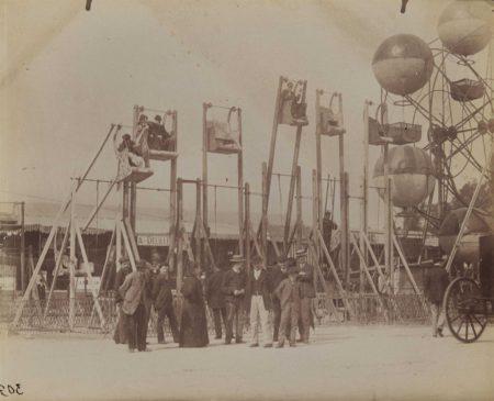 Eugene Atget-Fete des Invalides-1898