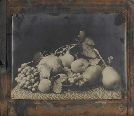 Photographer Unknown - Nature morte aux fruits et fleurs-1910