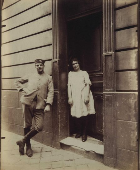 Eugene Atget-Versailles-1921