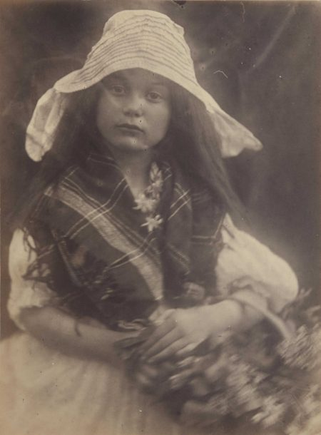 Julia Margaret Cameron-Unknown Girl-1872