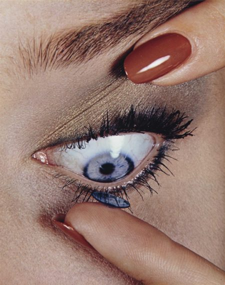 Irving Penn-Contact Lens, New York-1981